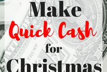 Make Money for the Holidays / Make money on the side! Use these ideas to earn extra cash and get started saving money for the holidays. make money for Christmas, make money for vacation, ideas for saving money for Christmas