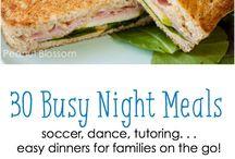 Busy night dinner