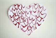 valentine day crafts / by Lisa Fawcett