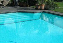 Zwembad, trappen / Bij het bouwen van zwembaden heeft u de keus uit diverse trappen
