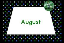 August Resources / Classroom resources and ideas to use in August