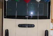 urodziny, kokardki, prezenty