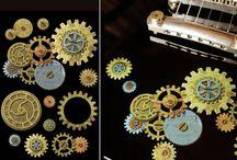 "Geometric / inlay sticker ""Geometric"" guitar/ukulele decals"