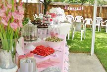 Baby Girl Shower / Gift ideas, shower activities, decorations, themes, food, and more for a baby girl