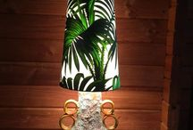 Lily and Vine Lampshades