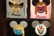 Disney World shirts