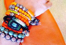 Arm Candy / Bracelets can enhance an outfit and give your wardrobe a huge style boost. How to wear bracelets with style and panache.
