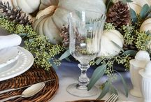 Table Decor - Autumn/Winter