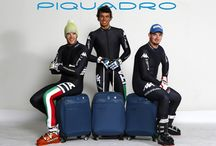 Piquadro technical supplier of the Italian team of downhill skiing