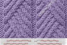 A pletení - vzory