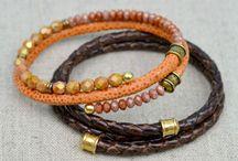 leather bead caps