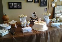 fall themed baby shower / Baby shower with a fall theme for baby / by Christy Hunt