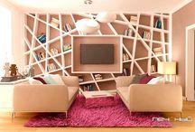 """Дизайн гостиной от студии """"Печёный"""" / Дизайн интерьера гостиной в квартире, в доме, гостиная интерьер, дизайн гостиной, living room"""