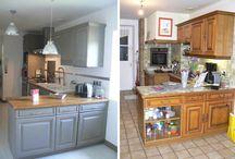 rénovation cuisine bois