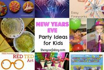 New Year Cheer  / New Year's Ideas  / by Melissa at The Eyes of a Boy blog