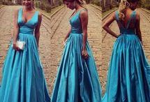 prom dress satin
