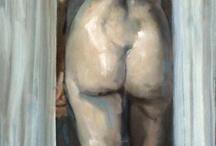 Ilustraciones de la ducha / Arte en la ducha