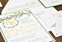 Wedding Invites- Kristen and Barry