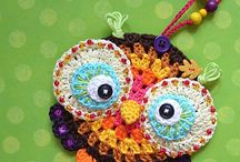 Crochet with beads and other embelishments