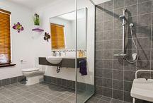 Our Liveable Bathrooms / Liveable & accessible bathroom renovations.