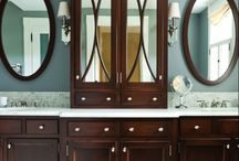 Bathroom remodel  / by Jamie Cruz