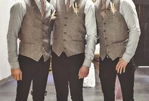Groomsmen Outfit Ideas / Ideas to help the men look just as good as the ladies!