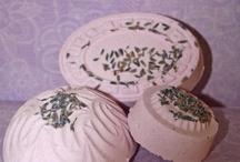 Relaxing Lavender Bath Fizzes