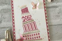 Karten Geburtstag- Birthday cards