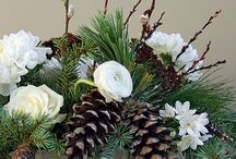 Winter Flowers / The prettiest winter whites and winter flowers  / by WHAT A BLOOM Florist in Canada