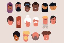 simple 2D characters