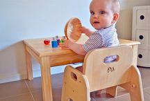 Mesinhas e cadeiras