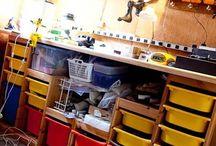 Organisation Garage/Werkstatt/Keller