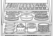 Cool Coloring Sheets / by Katy Holbein