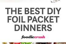 foil packed dinners