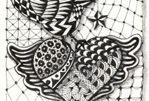Zentangle / Think you can't draw?  Try Zentangle and think again... / by Design Originals
