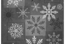 Holiday Magic designed by Jan Shade Beach / Christmas Fabric Collection