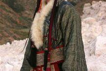 Viselet - kirgiz