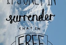 DeSire becomes Surrender, surrender becomes PoWeR.