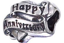 Anniversary Charms & Beads / Great gift ideas for your special Day - anniversary Beads fit most competing Pandora Style Bracelets and Charms for her traditional bracelet! / by Classic Charms