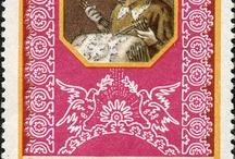 Tombolo francobolli maioliche e sculture