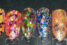 Glitters / Nail Glitter Available to add to Gel,  Acrylic and Polish