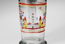 CZECH: Bohemian Enameled Glass