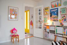 This is how you do bright colors! Ideal for children's room