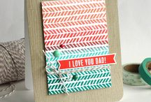 Craft ~ Dad and Father's Day / All things for Dad ~ cards, packaging, tags, wrapping and gifts