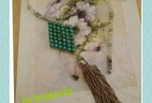 """Δημιουργίες """"ΚΩΣΤΟΥΛΑ"""" hand made jewelleries"""