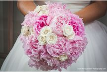 Bridal and Bridesmaids Bouquets / Wedding Bouquets Deigned by Sisters Floral Design Studio