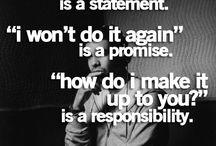 truthful quotes/ common wisdom  / by Jessica DeBlaze