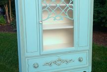 old furniture painted
