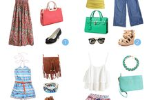Ways to Dress in a Bohemian Style / A few ways to get that Bohemian look!