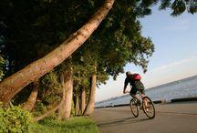 Biking in British Columbia